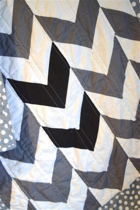 Black And Gray Quilts by Quot Black White And Grey All Quot Arrows Quilt Newlywoodwards