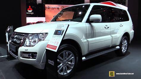 mitsubishi ek wagon interior 2016 mitsubishi pajero exterior and interior walkaround