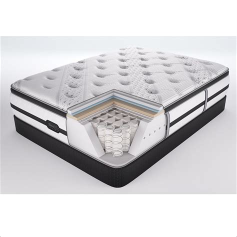 beautyrest black evie luxury firm pillow top mattress by