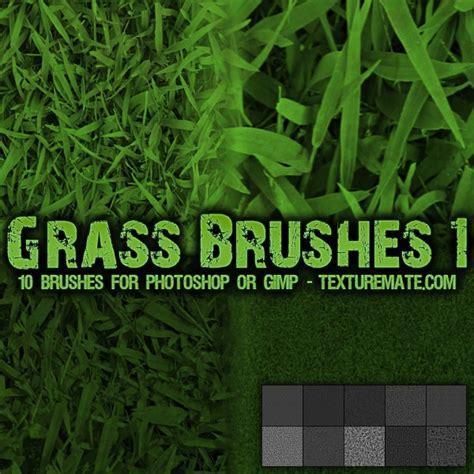 spray paint font gimp grass 1 brush pack for photoshop or gimp texturemate