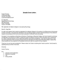 Cover Letter Format For Phd Application