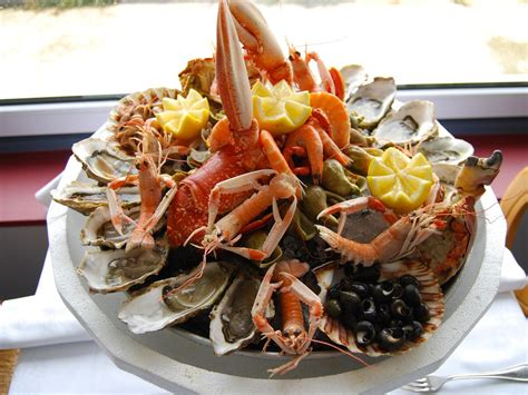 fruit de mer comment faire un plateau de fruit de mer