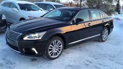 lexus black 2015 new black 2015 lexus ls 460 4dr sdn awd swb review youtube