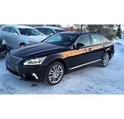 New Black 2015 Lexus LS 460 4dr Sdn AWD SWB Review  YouTube