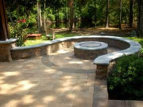 Paver Patios With Fire Pit by For The Home On Pinterest Occasional Chairs Landscape