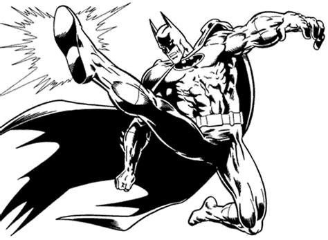 imagenes de batman a blanco y negro batman para colorear