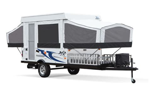 Jayco Camper Floor Plans What Can Pop Up Toy Haulers Really Haul Pop Up Campers