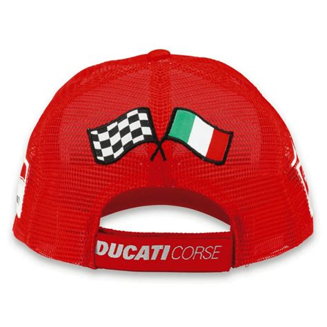Topi Trucker Ducati Merch ducati corse 13 cap trucker