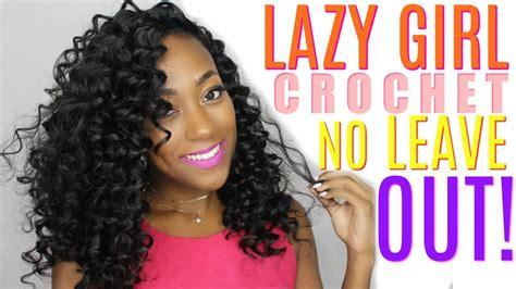 crochet braids crochet hair braiding hair divatress curly lazy girl crochet with no leave out ft divatress