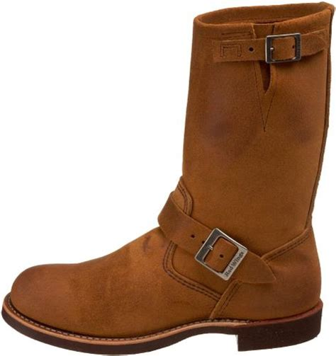 mens brown engineer boots wing mens 11 engineer boot in brown for burnt