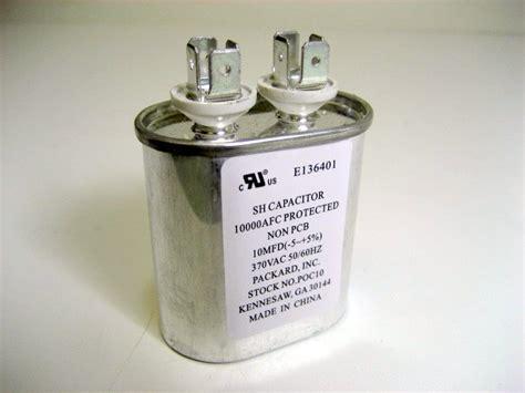 run capacitor g21 924 generic furnace parts mobile home repair