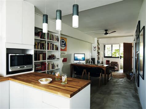 3 trendy hdb flat homes with monochromatic colour schemes 3 open concept hdb flat homes with trendy looks home