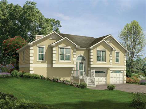 split level house with front porch penfield split level home plan 053d 0049 house plans and
