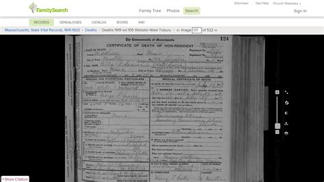 Ma Records Genea Musings Mining The Massachusetts Vital Records 1916 1920 On Familysearch