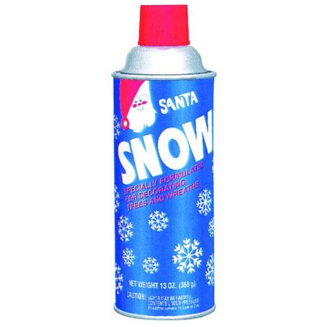 santa snow spray flocking ebay
