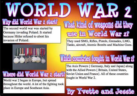 world war 2 133 fascinating facts for kids volume 11 yvette yvette comic life poster on world war 2