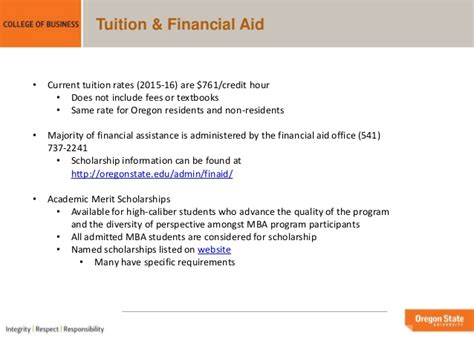 Portland State Mba Acceptance Rate by Oregon State Mba Portland Programs Overview