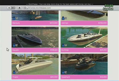 boat store gta 5 online shops grand theft auto v game guide
