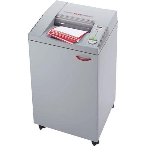 ideal 3104 office paper shredding machine 4mm sc elmstok