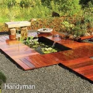 Pond Deck Designs Diy Water Garden Ideas 54 Pond Garden Ideas And Design