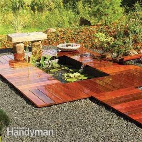installing a backyard pond diy water garden ideas 54 pond garden ideas and design