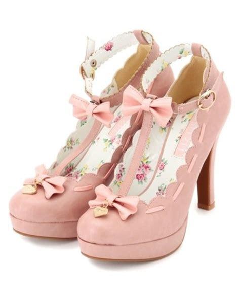 kawaii shoes shoes pink heels pretty kawaii liz japanese