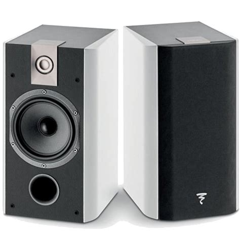 focal chorus 706 2 way bass reflex bookshelf speakers pair