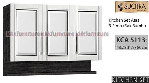 Tarikan Lemari Kitchen Set 12cm Promo Termurah kitchen set atas pintu 3 kca 5113 sucitra diskon promo