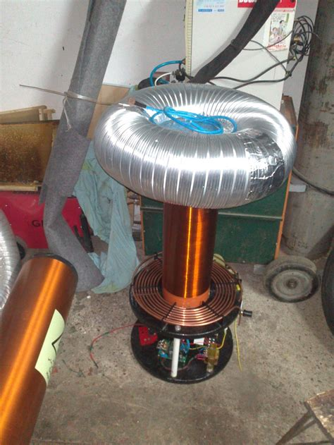 Dual Resonant Tesla Coil Dual Resonant Solid State Tesla Coil By Piglet11