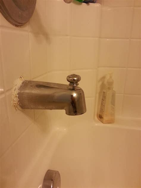 bathtub stuck stuck bathtub diverter and faucet as well terry love