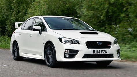 subru car subaru wrx sti review top gear