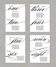6 best images of printable wedding seating chart