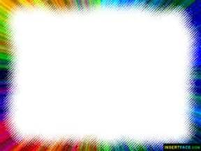 colorful border photo frame insert photos