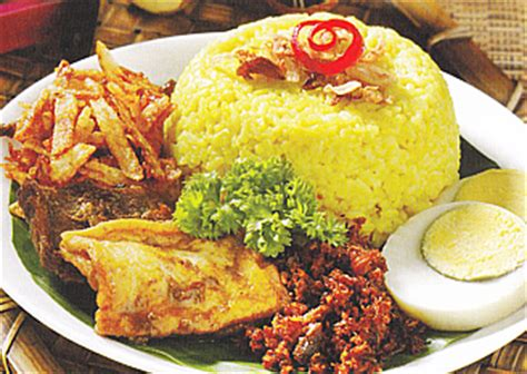 resep membuat nasi kuning dan pelengkapnya resep masakan sehari hari terbaru cara membuat dan resep