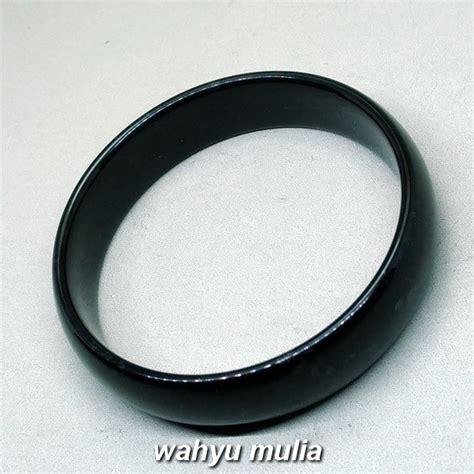 Gelang Giok Hitam Asli gelang batu giok hitam black jade asli kode 994 wahyu