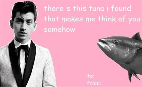 Funny Valentine Meme Cards - alex turner valentine s day meme my version i saw a