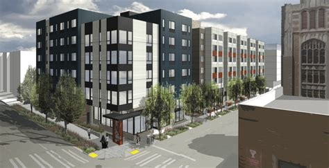 Cheapest Apartment In Seattle Wa Bellwether Housing Breaks Ground On 133 Affordable