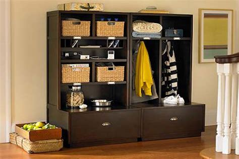 Foyer Unit Designs by Clever Ideas For Your Entryway Storage Hirerush