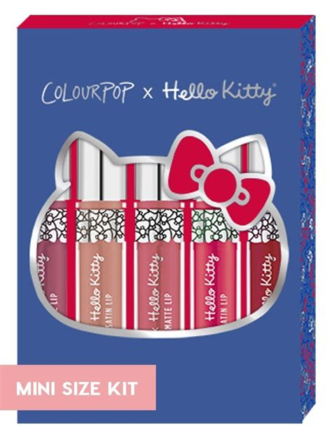 Colourpop Puroland Mini Size colourpop mini size kit hello puroland