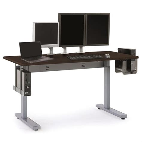 sit stand desk electric elevate 60 electric sit stand desk notsitting
