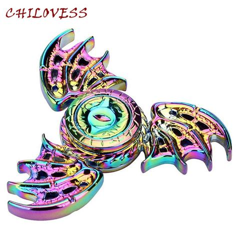 Fitged Spinner Dragons Metal Steel Aliexpress Buy 2017 New S Eye Rainbow Finger