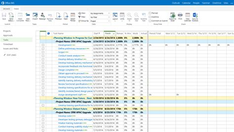 Office 365 Project Management Connecting The Dots With Project Lite From Time Tracking