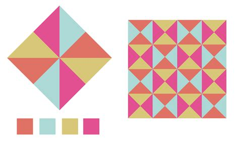 Designs Patterns Using Geometric Shapes | adobe illustrator tip creating geometric shapes with