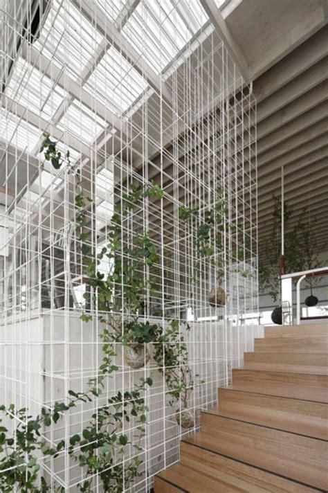 wire mesh green facade green architecture architecture