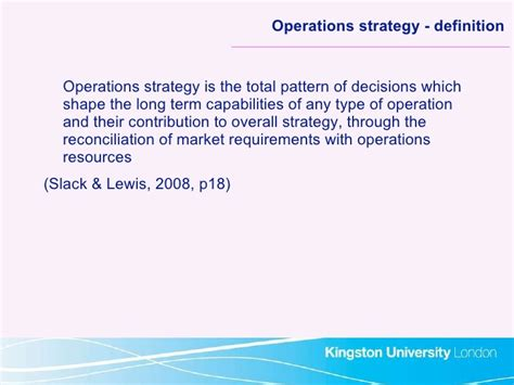 layout strategy operations management definition 2010 s1 operations managementsession1intro