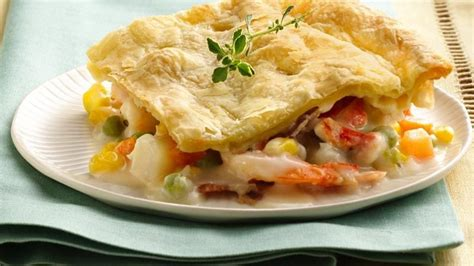 seafood pot pie seafood chowder pot pie recipe from betty crocker