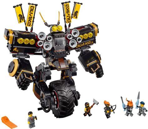 Premium Brick Lego Ninjago Mobil Tempur Of Black Rider Sy 331 70632 1 quake mech brickset lego set guide and database