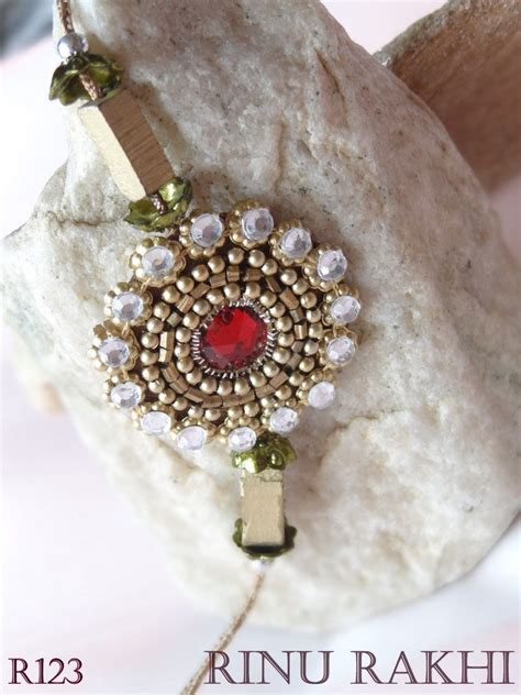 Beautiful Handmade Rakhi - beautiful handmade sadi moli rakhi rakhi gifts rinu rakhi