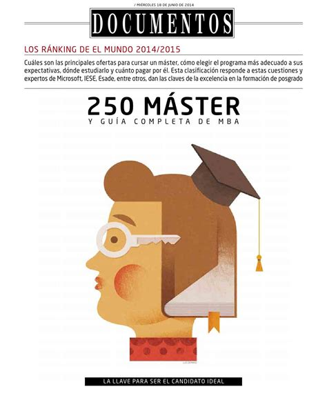 Eae Business School Mba Ranking by Ranking 250 Mejores Masters El Mundo 2014 By Eae Business