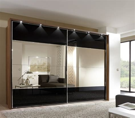 kleiderschrank schwarz weiß mit spiegel erfreut kleiderschrank mit spiegelfront fotos die